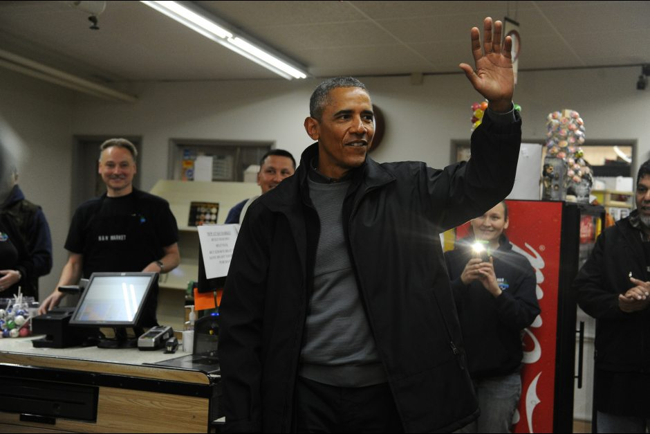 My brush with celebrity: When the President came to Dillingham