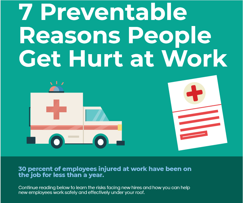 7 Preventable Safety Mistakes Infographic